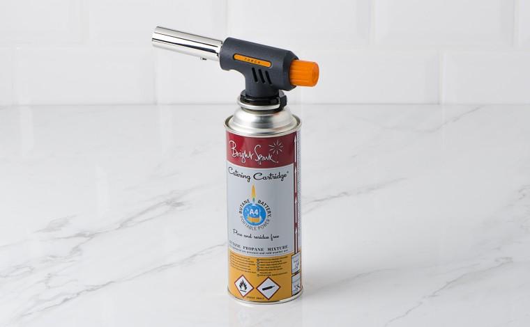 Chalumeau à gaz Pro Cuisine + 1 cartouche à gaz