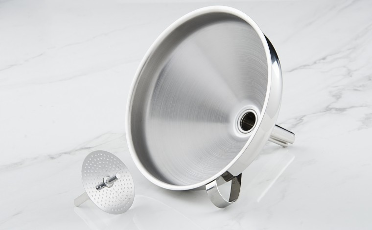 Stainless funnel - colander