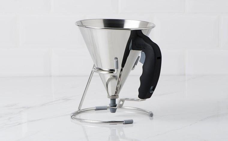 Kwik De Buyer automatic piston funnel