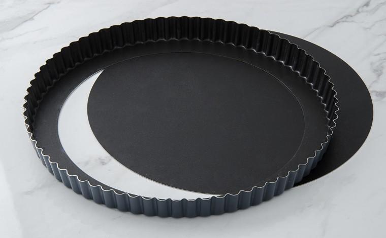 Exopan fluted pie mobile bottom - Diameter 28 cm