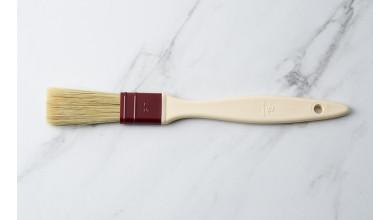 Pinceau plat poils en soie naturelle 2,5 cm