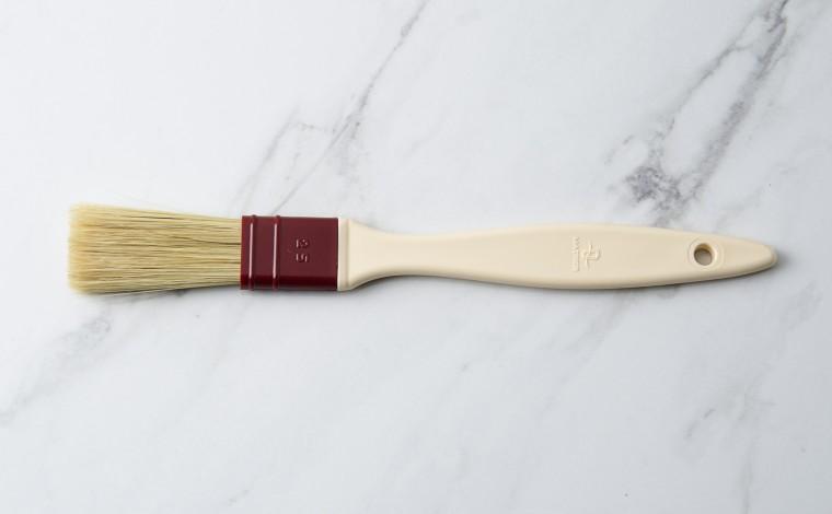 Flat brush natural silk hair 2.5 cm