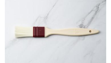Pinceau plat poils en fibre synthétique 3 cm