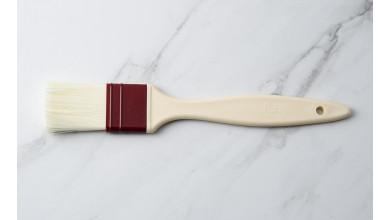Pinceau plat poils en fibre synthétique 4 cm