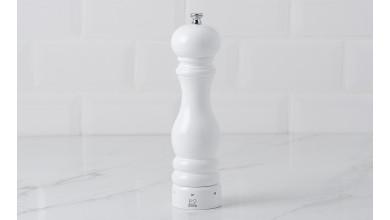 Moulin à sel 22 cm PARIS U'Select - blanc laqué