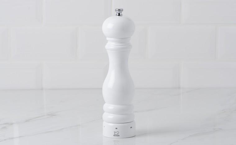 Salt mill 22 cm PARIS U'Select - white laqué