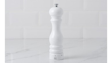 Pepper mill 22 cm PARIS U'Select - white laqué