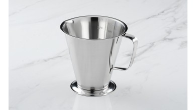 0.5 litre stainless steel graduated measure