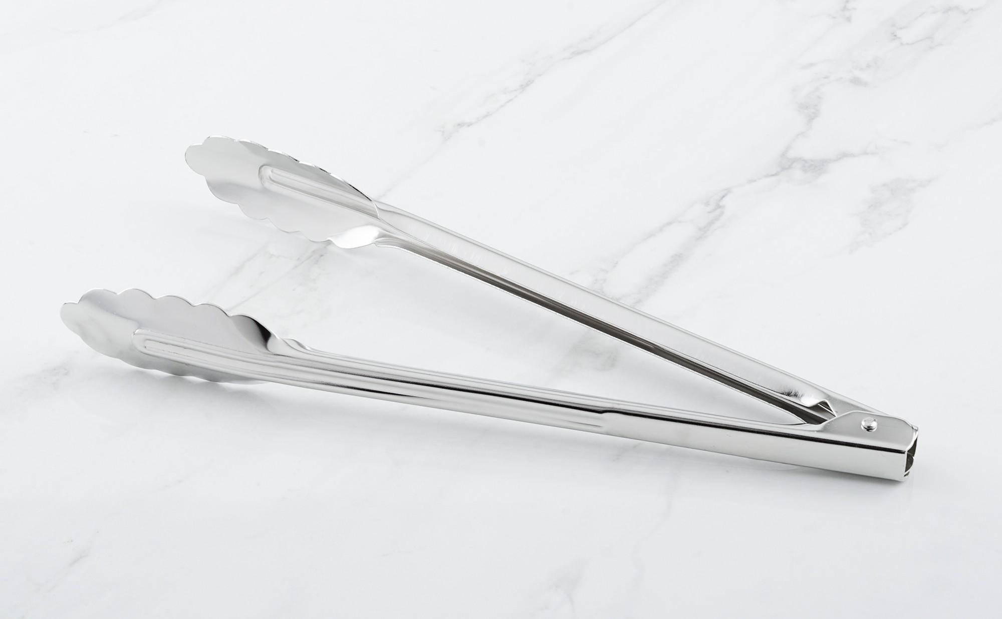 Pince inox feuille de ch ne multi usage 30 cm colichef for Feuille inox cuisine