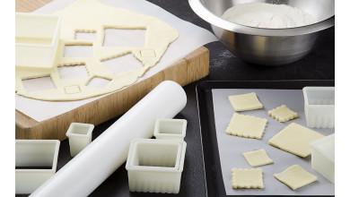 Rouleau à pâte en polyéthylène