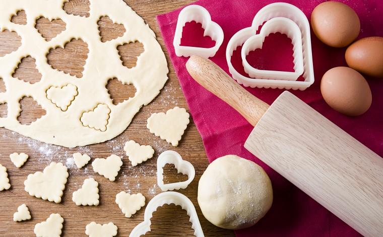 Rouleau à pâte en bois