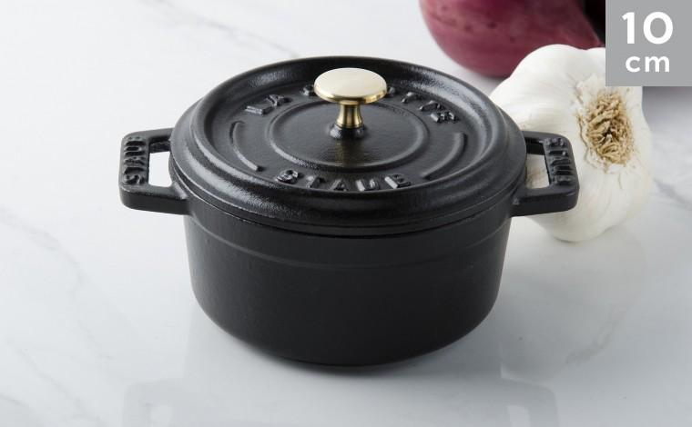 Cocotte fonte noire 10 cm