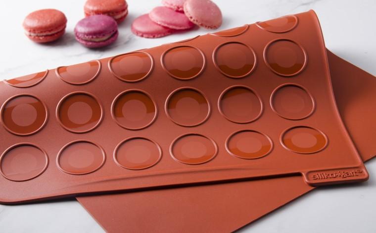 Toile de cuisson silicone 48 macarons
