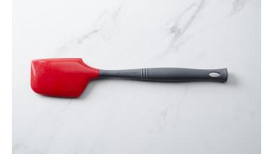 Grande spatule silicone Pro+ Rouge et Noir Le Creuset