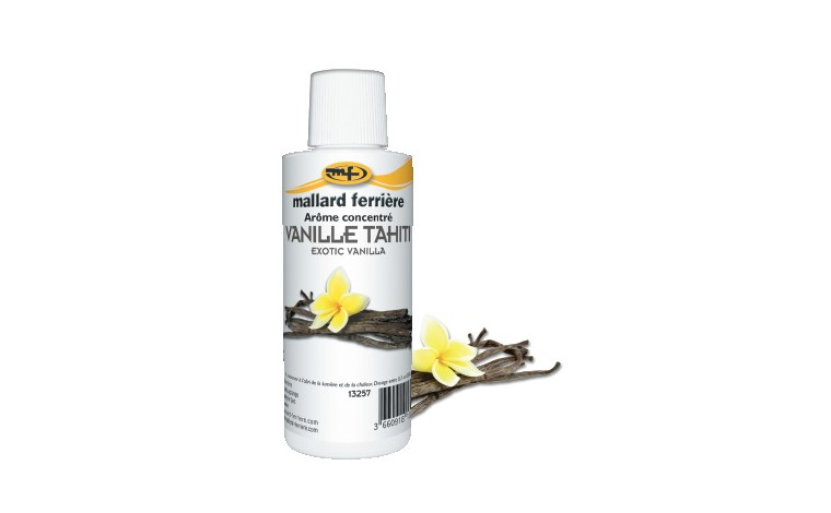 Arôme alimentaire concentré Vanille Tahiti 125ml