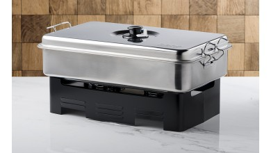 Stainless table smoker