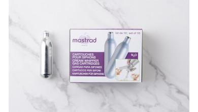 Cartouches Mastrad N2O - boîte de 10