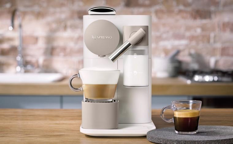 Machine Nespresso Lattissima One Blanc EN500.W-Delonghi