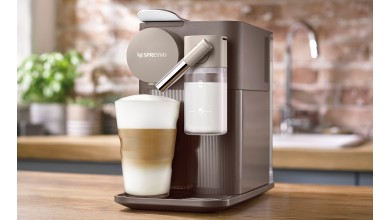 Machine Nespresso Lattissima One Marron EN500.BW-Delonghi