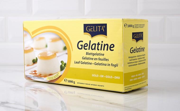 Gélatine en feuilles OR- 1 Kg