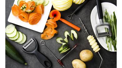 Kit décoration fruits et légumes (6 outils)