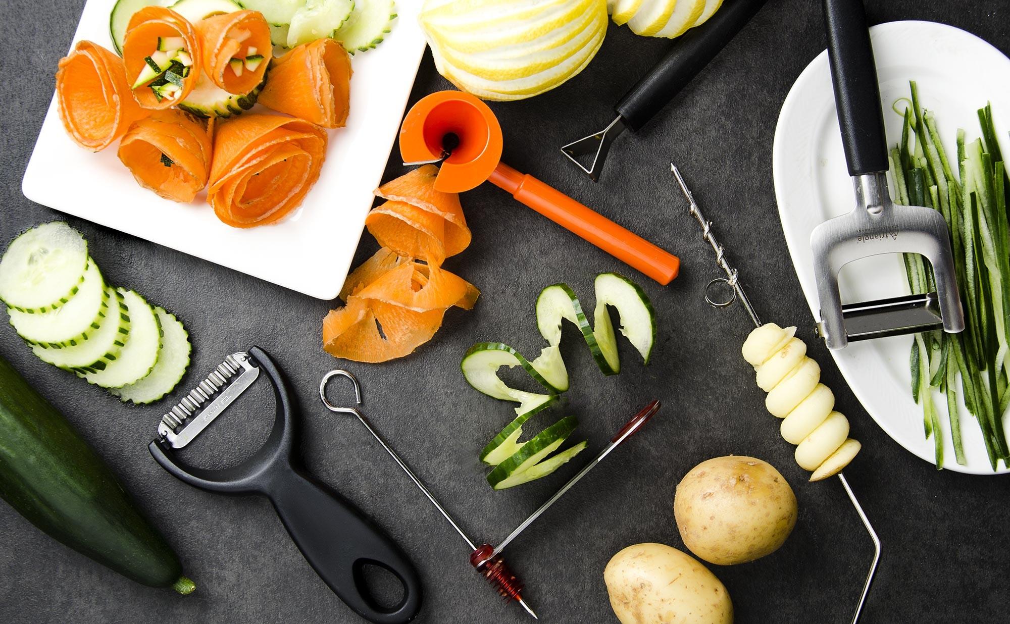 dcoupe fruits et lgumes en dcoration elegant dco radis