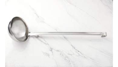 Single-piece stainless steel ladle Diameter 14 cm