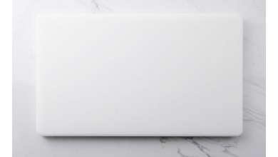 Planche à découper blanche
