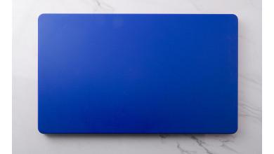 Planche à découper bleu