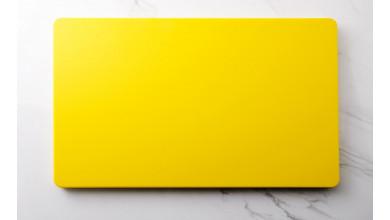 Planche à découper jaune