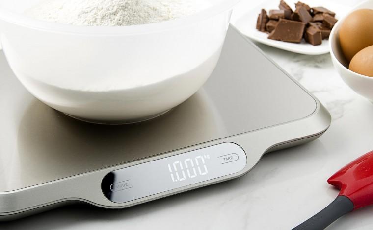 Balance de cuisine en acier inoxydable