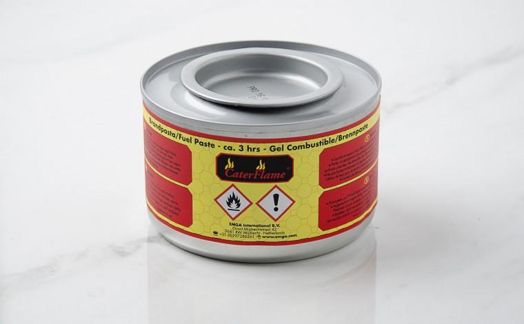 Boîte gel combustible