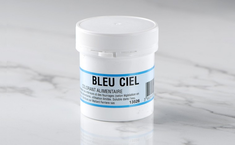 Colorant alimentaire en poudre Bleu Ciel 20gr