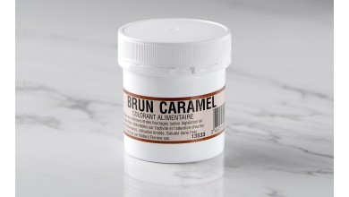 Colorant alimentaire en poudre Brun Caramel 20gr