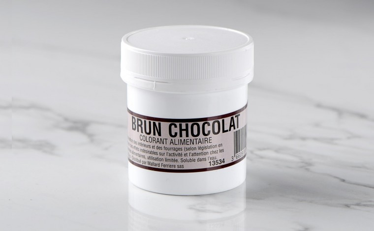 Colorant alimentaire en poudre Brun Chocolat 20gr