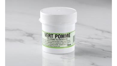 Colorant alimentaire en poudre Vert Pomme 20gr