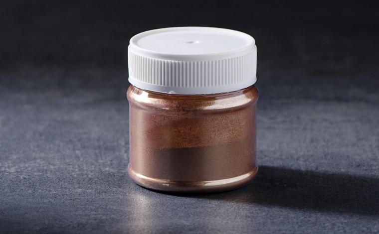 Colorant alimentaire métallisé en poudre Or Inca 30cc