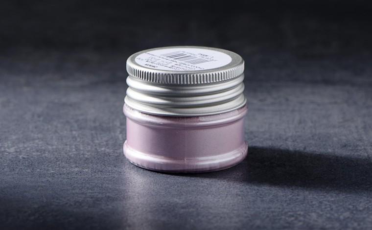 Colorant alimentaire métallisé en poudre Rose 30cc