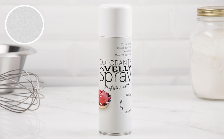 Spray effet velours blanc 250 ML