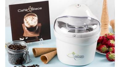 Sorbetière IDelonghi IL Gelataio IC 8500 + livre café & glace