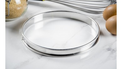Stainless pie circle - Diameter 18 cm