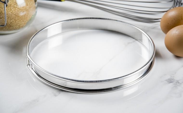 Stainless pie circle - Diameter 18 cm