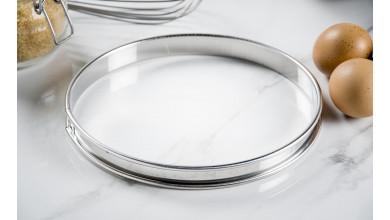 Cercle inox à tarte - Diamètre 20 cm