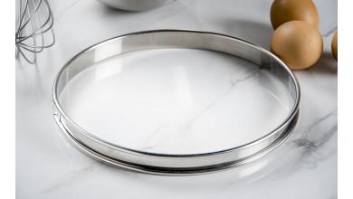 Cercle inox à tarte - Diamètre 22 cm