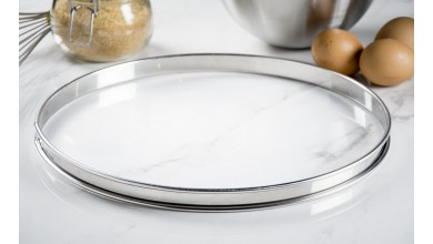 Stainless pie circle - Diameter 32 cm