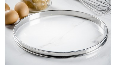 Stainless pie circle - Diameter 28 cm