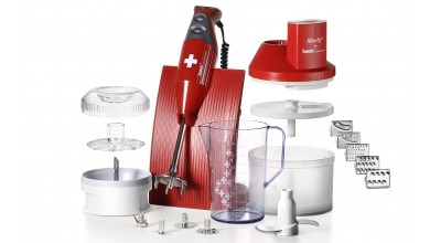 Coffret Mixeur Bamix Box Rouge