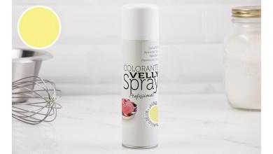 Spray effet velours jaune 250 ML