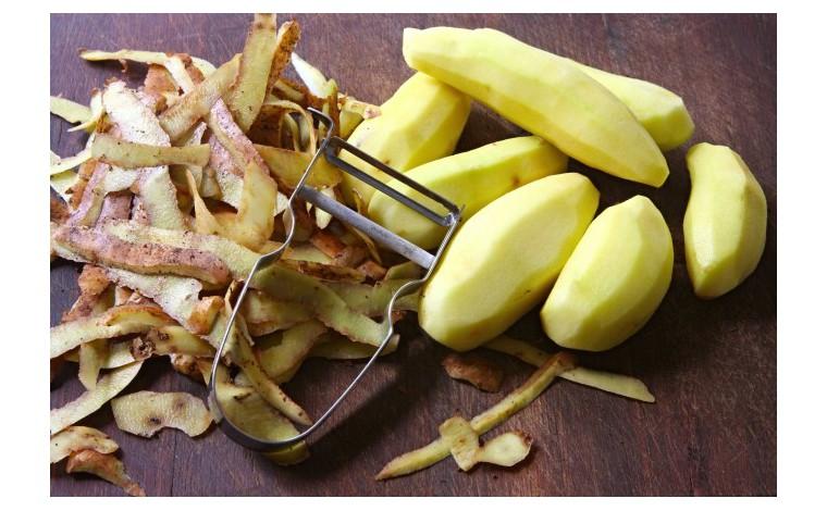Castor vegetable peeler - stainless blade