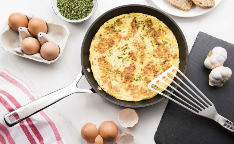 24 cm induction non-stick frying pan Le Creuset - The Forged